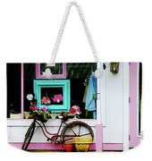 Bicycle By Antique Shop Weekender Tote Bag