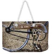 Bicycle Gears Weekender Tote Bag by Debra and Dave Vanderlaan