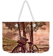 Bicycle In The Park Weekender Tote Bag