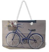 Bicycle Leaning On A Wall Weekender Tote Bag