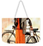Bicycle Man Weekender Tote Bag