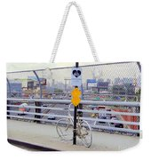 Bicycle Memorial Weekender Tote Bag