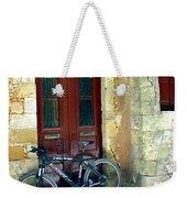 Bicycle Of Santorini Weekender Tote Bag