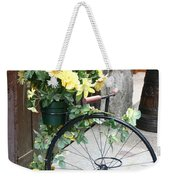 Bicycle Plant Holder Weekender Tote Bag