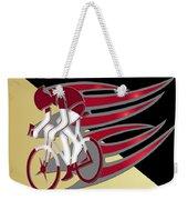 Bicycle Rider 01 Weekender Tote Bag