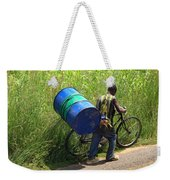 Bicycle Strain Weekender Tote Bag