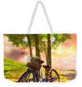 Bicycle Under The Tree Weekender Tote Bag