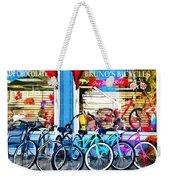 Bicycles And Chocolate Weekender Tote Bag