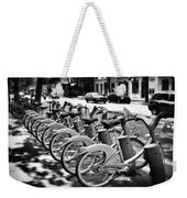 Bicycles - Velib Station - Paris Weekender Tote Bag