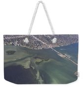 Bidr's Eye View Of Beautiful Miami Beachfront Weekender Tote Bag