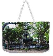 Bienville Fountain Mobile Alabama Weekender Tote Bag