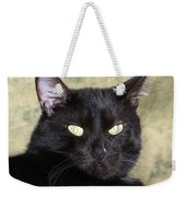 Big Bad Voodoo Kitty Weekender Tote Bag