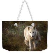 Big Bad Wolf Sprinkling The Grass Weekender Tote Bag