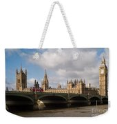Big Ben And Houses Of Parliament Weekender Tote Bag