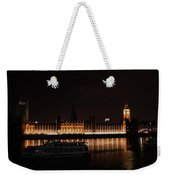 Big Ben And The Houses Of Parliment On The Thames Weekender Tote Bag