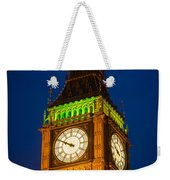 Big Ben At Night Weekender Tote Bag