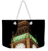 Big Ben Close Up Weekender Tote Bag