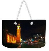 Big Ben - London Weekender Tote Bag