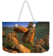 Big Bend Window Rock Weekender Tote Bag