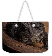 Big Black Toad Weekender Tote Bag