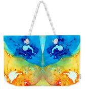 Big Blue Love - Visionary Art By Sharon Cummings Weekender Tote Bag