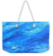 Big Blue Weekender Tote Bag