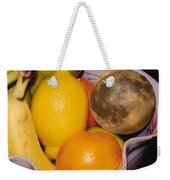 Big Bowl Of Fruit Weekender Tote Bag