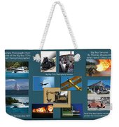 Big Boy Toys Photography Services Weekender Tote Bag