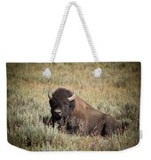 Big Buff - Bison - Buffalo - Yellowstone National Park - Wyoming Weekender Tote Bag