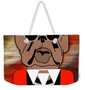 Big Bull Dog Weekender Tote Bag
