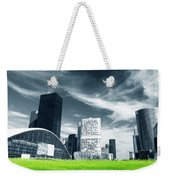Big City And Green Fresh Meadow Weekender Tote Bag