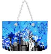Big City Blues 4 Liberty Weekender Tote Bag