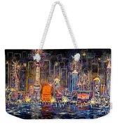 Big City Lights Weekender Tote Bag