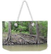 Big Cypress River Trees Weekender Tote Bag