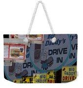Big Daddy's Drive Inn Auburn Wa Weekender Tote Bag