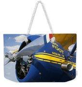 Big Foot Biplane Weekender Tote Bag