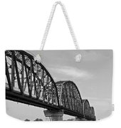 Big Four Bridge Bw Weekender Tote Bag