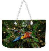 Big Glider Macaw Digital Art Weekender Tote Bag