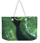Big Green Eating Machine Weekender Tote Bag