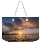 Big Lagoon Winter Evening Weekender Tote Bag