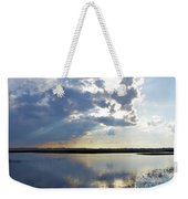 Big Marsh Sunset Weekender Tote Bag