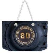 Big Number 20 Weekender Tote Bag