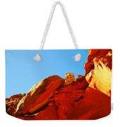 Big Orange Rock Weekender Tote Bag