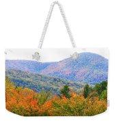 Big Pisgah Mountain In The Fall Weekender Tote Bag
