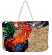 Big Red And The Girls Weekender Tote Bag