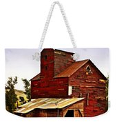 Big Red Grain Elevator Weekender Tote Bag