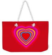Big Red Love Weekender Tote Bag