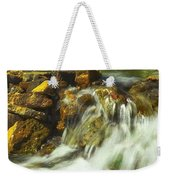 Big River  Waterfall And Dam Weekender Tote Bag