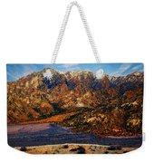 Big Rock Mountain Weekender Tote Bag