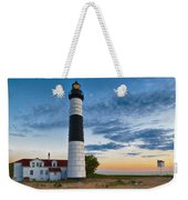 Big Sable Point Lighthouse Sunset Weekender Tote Bag